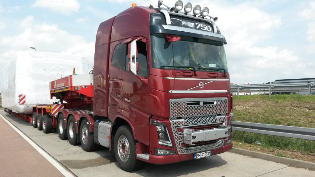 The best truck on the market for 150 t transport